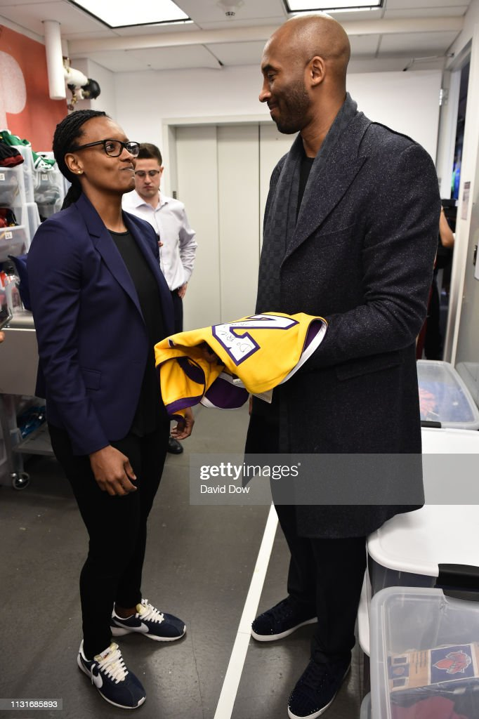 hot sale online 5540d a9367 Kobe Bryant visits the NBA Store launches Granity Studios ...