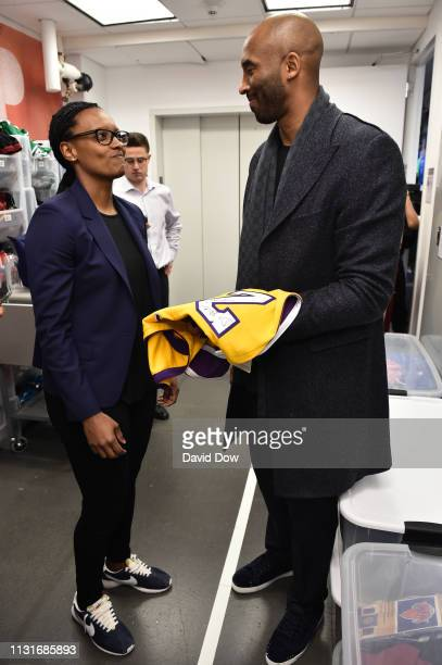 Kobe Bryant visits the NBA Store launches Granity Studios' debut book The Wizenard Series Training Camp to young athletes at the flagship NBA Store...
