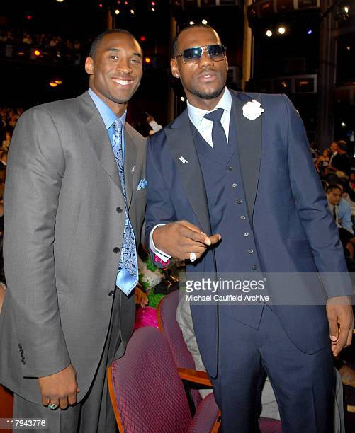 Kobe Bryant winner Under Armour Undeniable Performance Award and LeBron James **Exclusive**