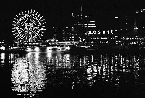Kobe harbor skyline