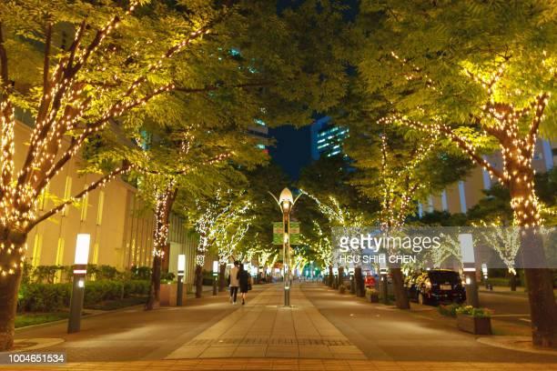 kobe lamplight street - 神戸市 ストックフォトと画像