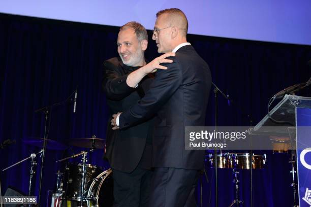 Kobi Halperin and Steven Kolb attend 22nd Annual Collaborating For A Cure Gala Benefiting The Samuel Waxman Cancer Research Foundation on November 21...