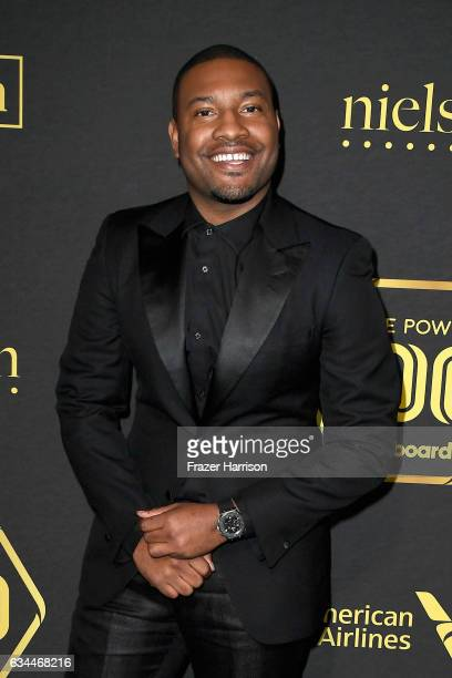 Kobie Randolph Creator of Project Hollywood attends Billboard Power 100 Red Carpet at Cecconi's on February 9 2017 in West Hollywood California