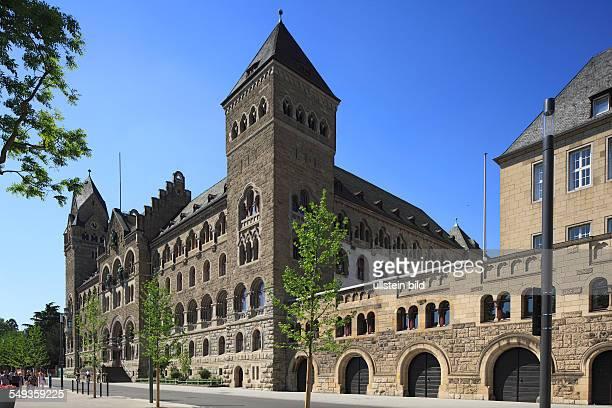 Koblenz, former Prussian governmental building, Bundesamt fuer Wehrtechnik und Beschaffung, Higher Regional Court of Rhineland-Palatinate,...