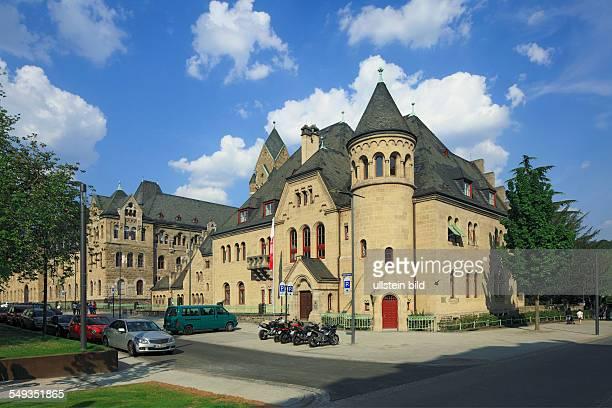 Koblenz, former Prussian governmental building, Higher Regional Court of Rhineland-Palatinate, Anwaltsgerichtshof, lawyer court of...