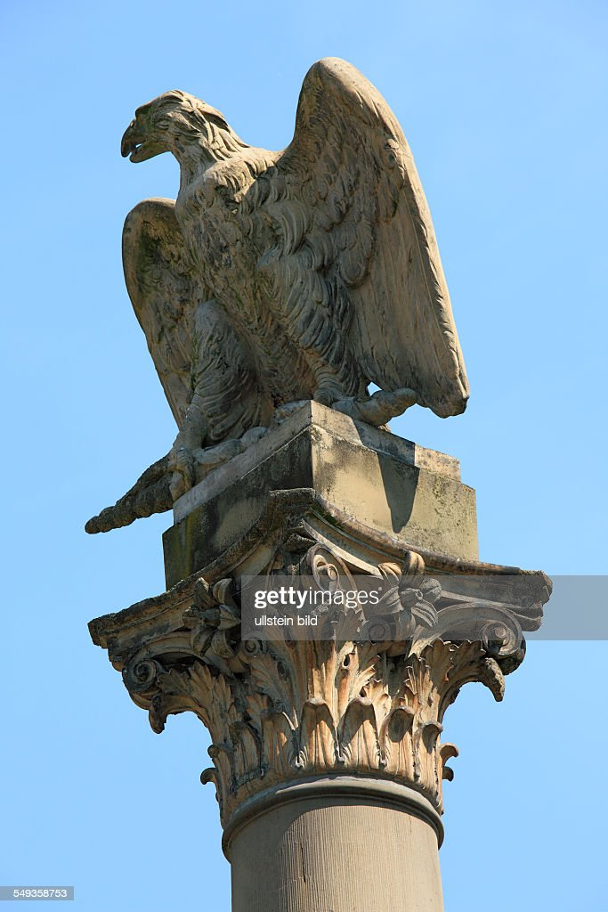 Koblenz,  monument, Prussian eagle : News Photo