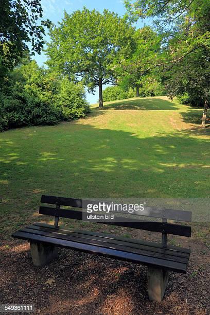 Koblenz KoblenzLuetzel public park in Luetzel on the Petersberg Peter Hill park landscape