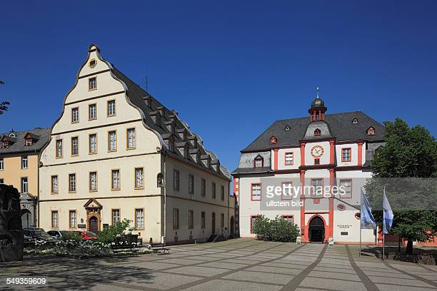 Koblenz old town Florin Market Buerresheimer Hof city library Middle Rhine Museum