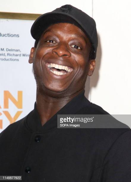 Kobna HoldbrookSmith at The Lehman Trilogy Press Night at the Piccadilly Theatre Piccadilly Circus