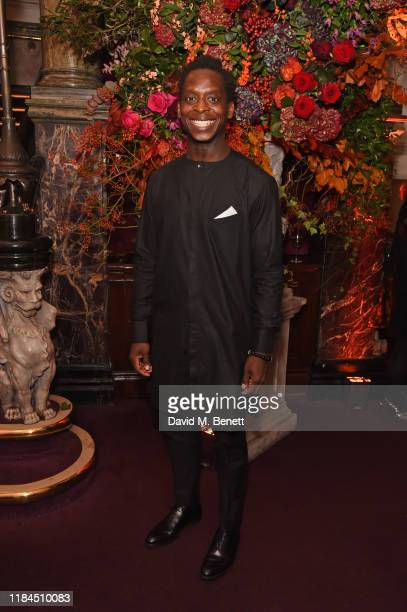 Kobna Holdbrook-Smith attends the 65th Evening Standard Theatre Awards in association with Michael Kors at the London Coliseum on November 24, 2019...
