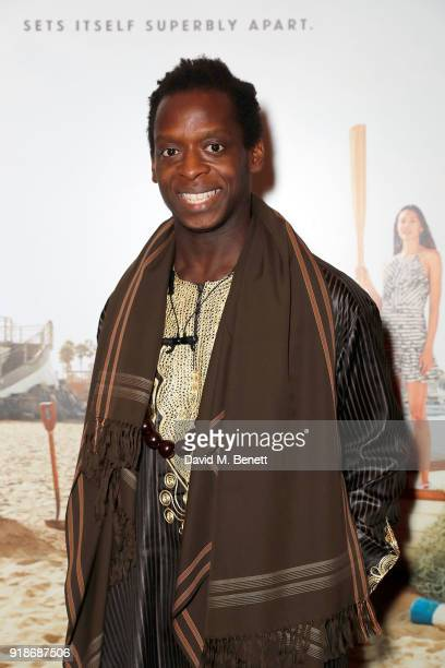 Kobna HoldbrookSmith attends the Newport Beach Film Festival UK Honours in association with Visit Newport Beach at The Rosewood Hotel on February 15...