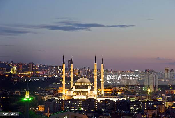 kocatepe mosque - ankara turkey stock pictures, royalty-free photos & images
