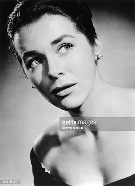 Koch Marianne Actress physician Germany * Scene from the movie 'Interlude'' Directed by Detlef Sierck USA 1957 Produced by Universal Pictures Vintage...