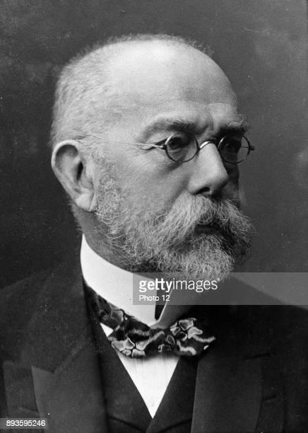 Koch Robert German bacteriologist and physician Tubercule bacillus Tuberculin Cholera bacillus Nobel prize for physiology and medicine 1905...
