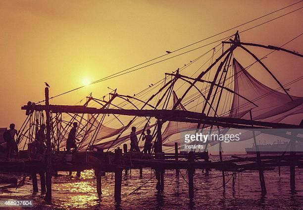 Kochi Chinese fishing nets