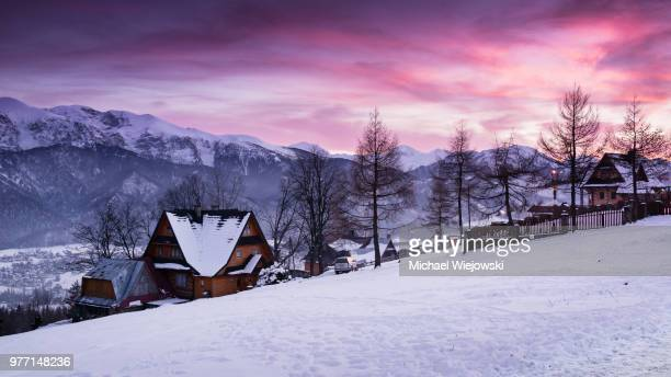kościelisko,poland - zakopane stock pictures, royalty-free photos & images