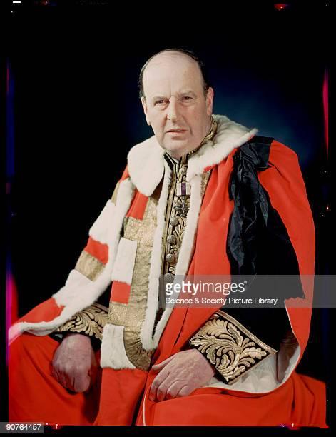 Kodachrome colour photograph of John Theodore Cuthbert MooreBrabazon taken by JCA Redhead during World War Two MooreBrabazon was made Lord Brabazon...