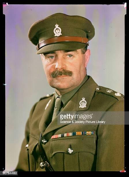 Kodachrome colour photograph of Lieutenant Colonel Brummel taken by JCA Redhead during World War Two Lieutenant Colonel Brummel served in...
