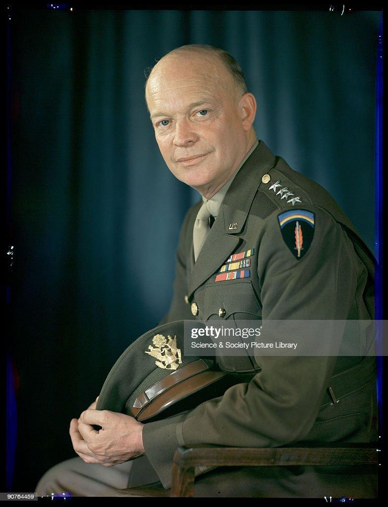 General Eisenhower, c 1943. : News Photo