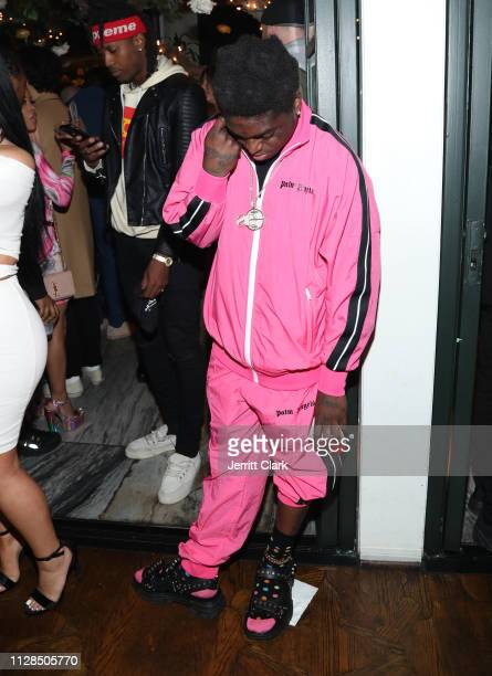 Kodak Black attends Murda Beatz 25th Birthday GRAMMY Celebration on February 08 2019 in West Hollywood California