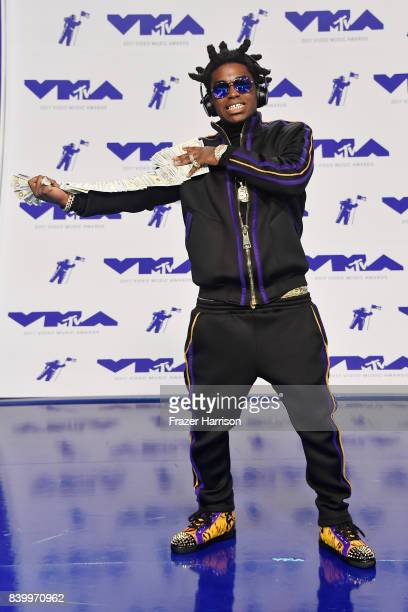 Kodak Black attends the 2017 MTV Video Music Awards at The Forum on August 27 2017 in Inglewood California