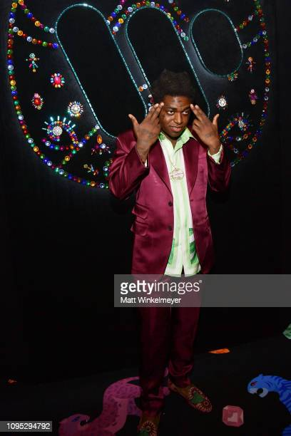 Kodak Black attends the Warner Music PreGrammy Party at the NoMad Hotel on February 7 2019 in Los Angeles California
