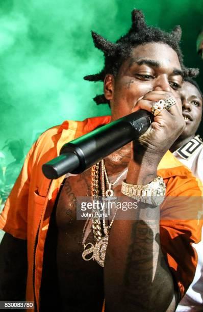 Kodak Black Homecoming Concert at Watsco Center on August 10 2017 in Miami Florida