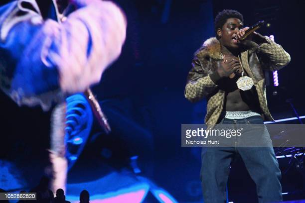 Kodak Black performs onstage during the 4th Annual TIDAL X Brooklyn at Barclays Center of Brooklyn on October 23 2018 in New York City