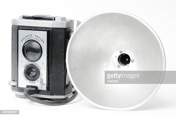 Kodak Brownie Reflex mit Flash