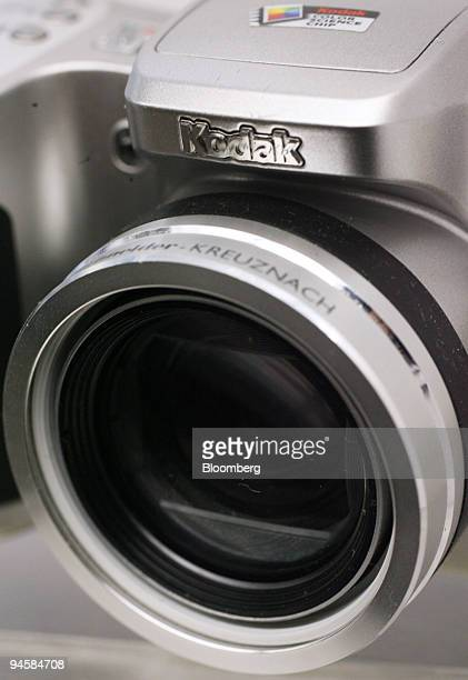Kodak digital camera sits on display at BH Photo on Wednesday Jan 31 2007 in New York Julie Won who helps manage $200 million at Hanson Investment...