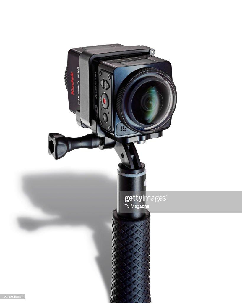 A Kodak PixPro SP360M 4K action camera, taken on September 1