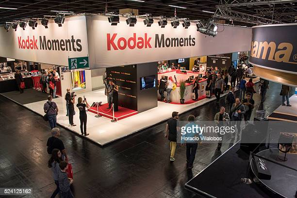 Kodak stand in Photokina 2014 in Cologne Germany 18 September 2014 Photokina the world's leading imaging fair brings together the industry trade...