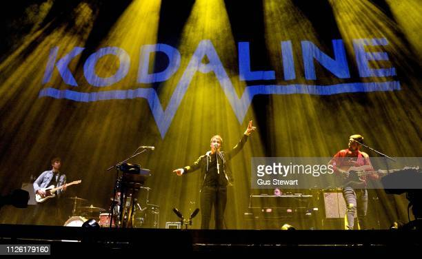 Kodaline perform on stage at The O2 Arena on January 26, 2019 in London, England.