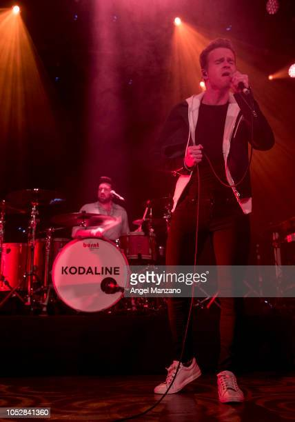 Kodaline performs in concert at La Riviera on October 23 2018 in Madrid Spain