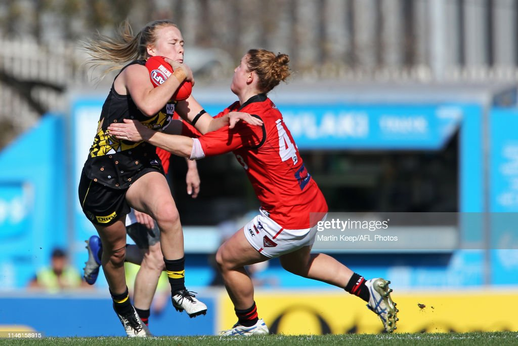 AUS: VFLW Rd 3 - Richmond v Essendon