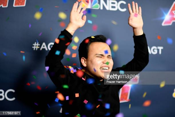 Kodi Lee attends America's Got Talent Season 14 Finale Red Carpet at Dolby Theatre on September 18 2019 in Hollywood California
