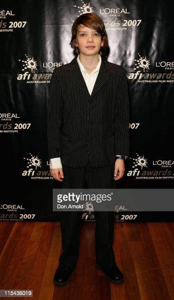 Kodi SmitMcPhee attends the L'Oreal Paris 2007 AFI Awards Nominations Announcement at the Sydney Theatre on October 24 2007 in Sydney Australia All...