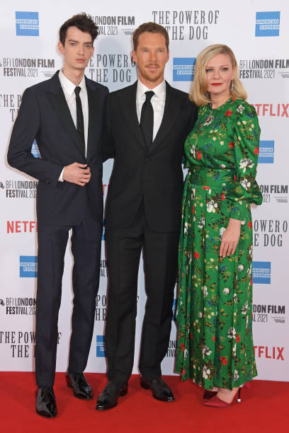 """GBR: """"The Power of the Dog"""" Gala Premiere - 65th BFI London Film Festival"""