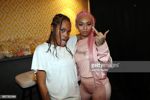 Kodie Shane and Cuban Doll attend The 7th Annual ICM x Cantu Official SXSW Showcase Presented by Bumble at The Belmont on March 15 2018 in Austin...
