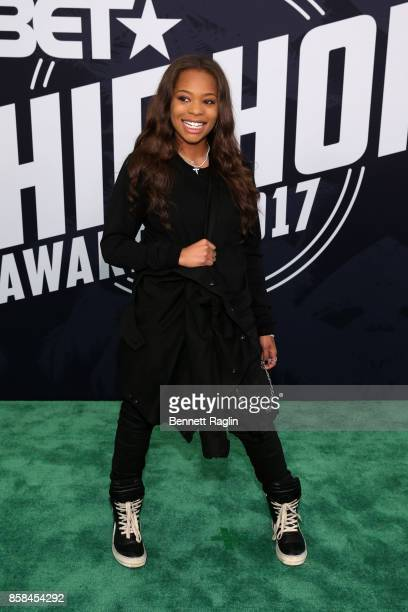 Kodie Shane attends the BET Hip Hop Awards 2017 at The Fillmore Miami Beach at the Jackie Gleason Theater on October 6 2017 in Miami Beach Florida