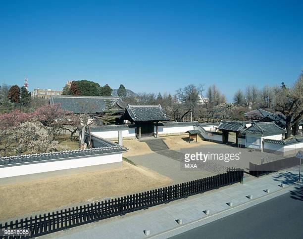 kodokan park, mito, ibaraki, japan - 茨城県 ストックフォトと画像