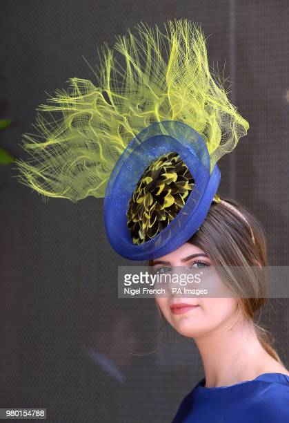 Kody Brooks poses for photographs on day three of Royal Ascot at Ascot Racecourse.