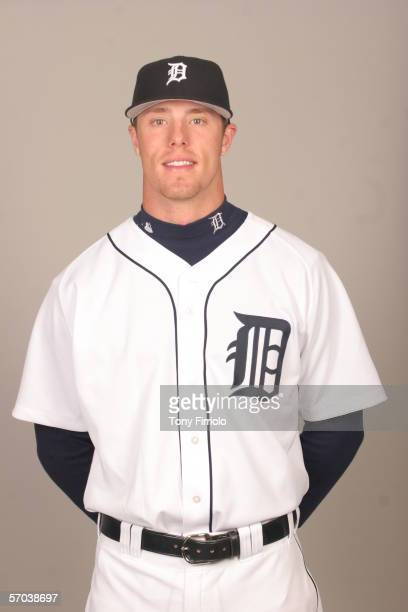 Kody Kirkland of the Detroit Tigers during photo day at Marchant Stadium on February 26 2006 in Lakeland Florida
