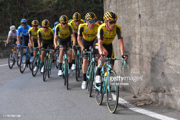 Koen Bouwman of Netherlands and Team Jumbo - Visma / Steven Kruijswijk of Netherlands and Team Jumbo - Visma / during the 99th Tre Valli Varesine...