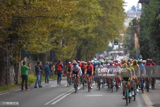 Koen Bouwman of Netherlands and Team Jumbo - Visma / Steven Kruijswijk of Netherlands and Team Jumbo - Visma / Laurens De Plus of Belgium and Team...