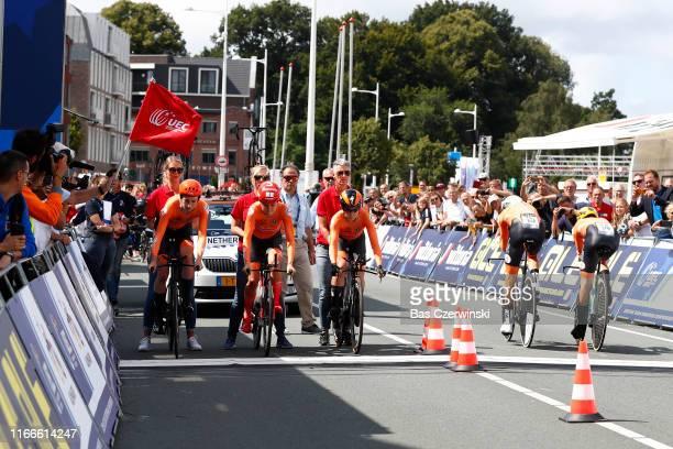 Koen Bouwman of Netherlands / Bauke Mollema of Netherlands / Ramon Sinkeldam of Netherlands / Floortje Mackaij of Netherlands / Riejanne Markus of...