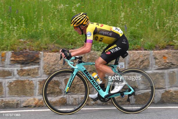 Koen Bouwman of The Netherlands and Team Jumbo - Visma / during the 83rd Tour of Switzerland, Stage 7 a 216,6km stage from Unterterzen to San...