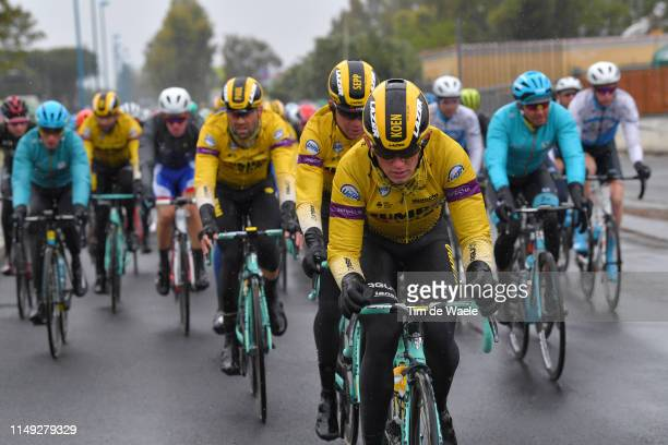 Koen Bouwman of The Netherlands and Team Jumbo - Visma / Sepp Kuss of The United States and Team Jumbo - Visma / Paul Martens of Germany and Team...
