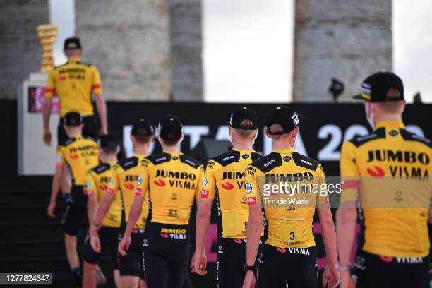 Koen Bouwman of The Netherlands, Tobias Foss of Norway, Chris Harper of Australia, Steven Kruijswijk of The Netherlands, Tony Martin of Germany,...