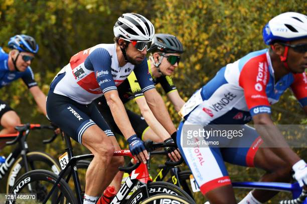 Koen De Kort of The Netherlands and Team Trek - Segafredo / during the 75th Tour of Spain 2020, Stage 2 a 151,6km stage from Pamplona to Lekunberri /...